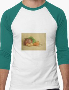 Still life with carrots and onions T-Shirt