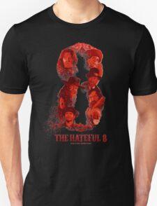 the hateful 8 logo T-Shirt