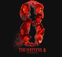 the hateful 8 logo Unisex T-Shirt