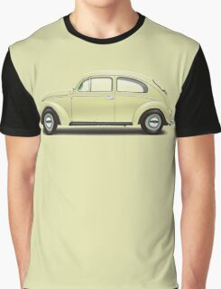1963 Volkswagen Beetle Sedan - Beryl Green Graphic T-Shirt