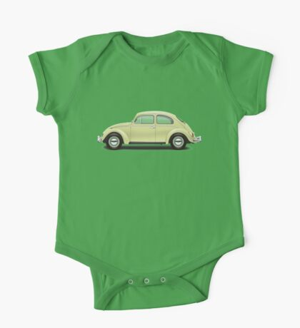 1963 Volkswagen Beetle Sedan - Beryl Green One Piece - Short Sleeve