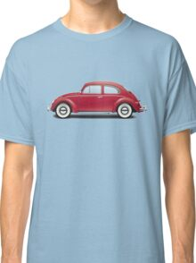 1964 Volkswagen Beetle Sedan - Ruby Red Classic T-Shirt