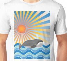 The Happy Whale Unisex T-Shirt