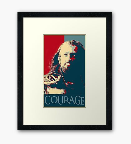 Thorin Courage Framed Print
