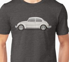 1966 Volkswagen Beetle Sedan - Pearl White Unisex T-Shirt