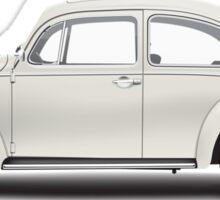 1966 Volkswagen Beetle Sedan - Pearl White Sticker