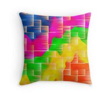 Wave Abstract Design Throw Pillow