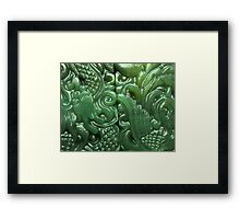 Ancient Jade iPhone / Samsung Galaxy Case Framed Print