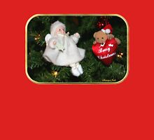 Beary Christmas ~ Tree Decorations Womens Fitted T-Shirt