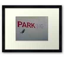 banksy-04 Framed Print