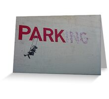 banksy-04 Greeting Card