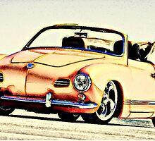 Vw Karmann Ghia by Sharon Poulton