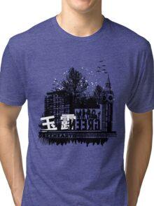 Urban color Green Tri-blend T-Shirt