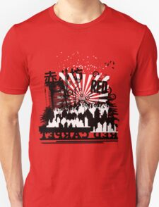 Urban color Red Unisex T-Shirt