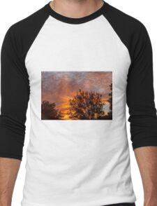 Golden Sunrise Men's Baseball ¾ T-Shirt