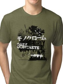 Urban color Grey Tri-blend T-Shirt