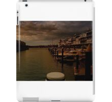 Walsh Bay after the rain iPad Case/Skin