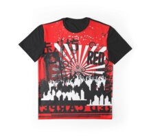 Urban color Red Graphic T-Shirt