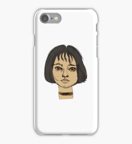 Mathilda Leon iPhone Case/Skin