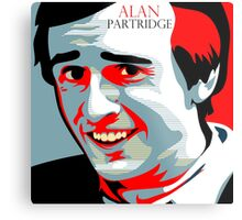 Alan Partridge Metal Print