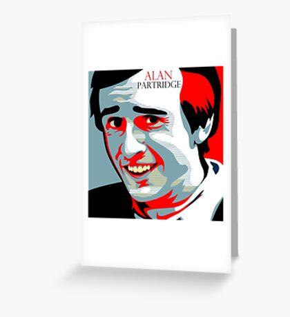 Alan Partridge Greeting Card