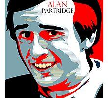 Alan Partridge Photographic Print