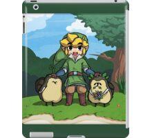 Legend of Zelda Skyward Sword: Link and Kikwis iPad Case/Skin