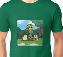Legend of Zelda Skyward Sword: Link and Kikwis Unisex T-Shirt
