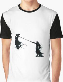 Sephirot vs Cloud  Graphic T-Shirt