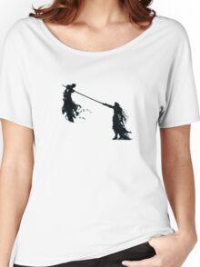 Sephirot vs Cloud  Women's Relaxed Fit T-Shirt