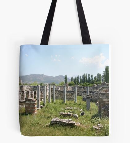 The Bishop's Palace Aphrodisias Turkey Tote Bag