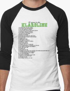 30 reasons to ship Klaroline Men's Baseball ¾ T-Shirt