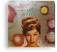 Exotic Sounds From The Silver Screen, Martin Denny Canvas Print