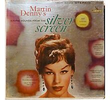 Exotic Sounds From The Silver Screen, Martin Denny Photographic Print