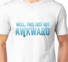 Well, This Just Got Awkward Unisex T-Shirt