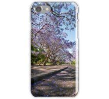 Under the Jacarandas iPhone Case/Skin
