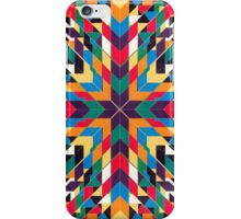 Triangles 3 abstract tribal pattern iPhone Case/Skin