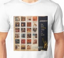 Liberty: The Most Exciting Sound In The World Unisex T-Shirt