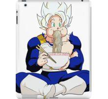 Goku eating noodles - DBZ iPad Case/Skin