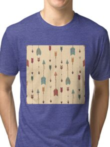 Bohemian hand drawn arrows Tri-blend T-Shirt