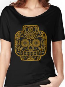 """Lego-Calavera"" Gold Version Women's Relaxed Fit T-Shirt"