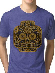 """Lego-Calavera"" Gold Version Tri-blend T-Shirt"