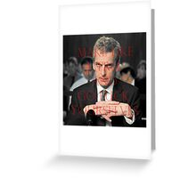 Malcolm Tucker Greeting Card
