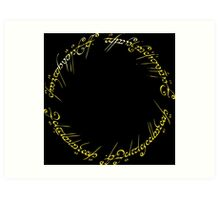 The One Ring Art Print