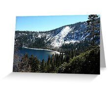 Beautiful South Lake Tahoe Greeting Card