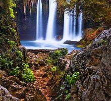 Path to Waterfalls by Baki Karacay