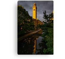 New Mill at Sunset, Saltaire Canvas Print