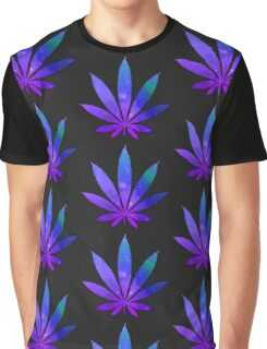Space Weed Graphic T-Shirt