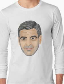 George Clooney Long Sleeve T-Shirt