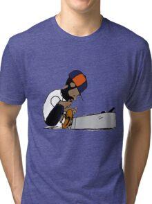 J Dilla Print 2 Tri-blend T-Shirt